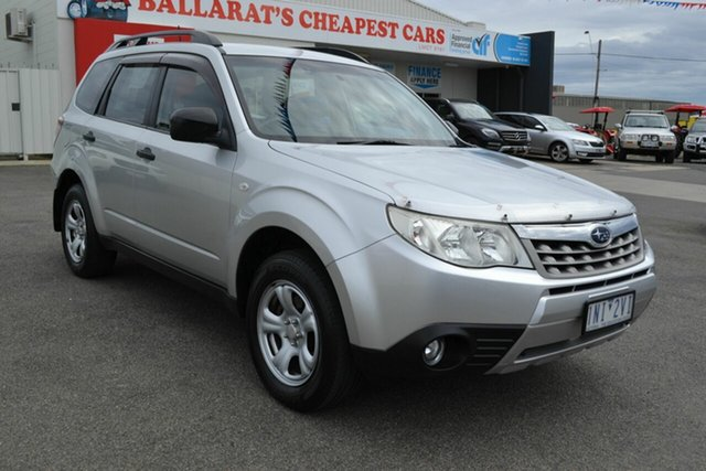 Used Subaru Forester MY11 X, 2011 Subaru Forester MY11 X Silver 4 Speed Auto Elec Sportshift Wagon