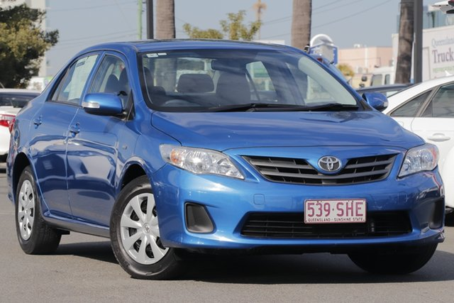 Used Toyota Corolla ZRE152R MY11 Ascent, 2012 Toyota Corolla ZRE152R MY11 Ascent Blue 4 Speed Automatic Sedan