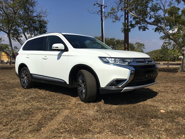 Used Mitsubishi Outlander ZK MY16 LS (4x4), 2016 Mitsubishi Outlander ZK MY16 LS (4x4) White Continuous Variable Wagon