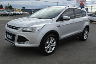 2013 Ford Kuga TF Trend (AWD) Silver 6 Speed Automatic Wagon.