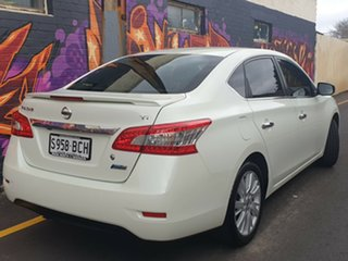 2013 Nissan Pulsar B17 TI White 1 Speed Constant Variable Sedan.