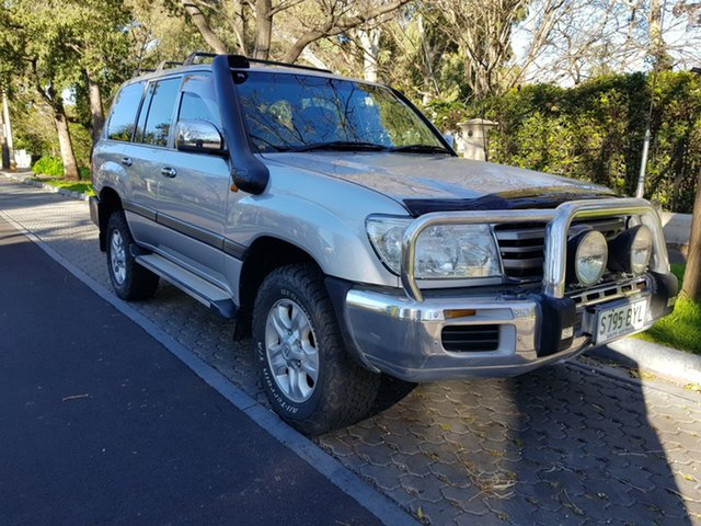 Used Toyota Landcruiser HDJ100R GXL, 2006 Toyota Landcruiser HDJ100R GXL Silver 5 Speed Manual Wagon