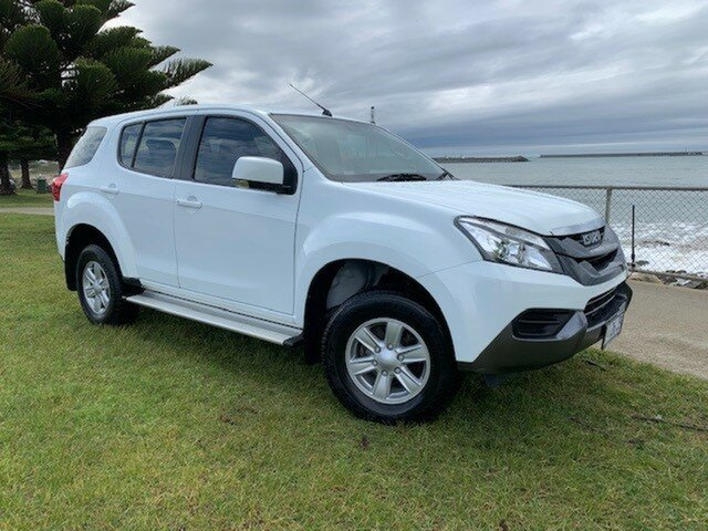 Used Isuzu MU-X MY15 LS-M Rev-Tronic 4x2, 2016 Isuzu MU-X MY15 LS-M Rev-Tronic 4x2 White 5 Speed Sports Automatic Wagon