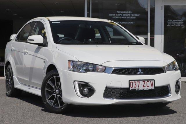 Used Mitsubishi Lancer CF MY16 ES Sport, 2016 Mitsubishi Lancer CF MY16 ES Sport White 6 Speed Constant Variable Sedan