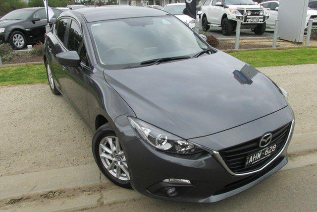 Used Mazda 3 BM5478 Maxx SKYACTIV-Drive, 2016 Mazda 3 BM5478 Maxx SKYACTIV-Drive Grey 6 Speed Sports Automatic Hatchback