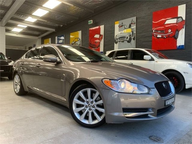 Used Jaguar XF X250 S, 2010 Jaguar XF X250 S Vapour Grey Sports Automatic Sedan