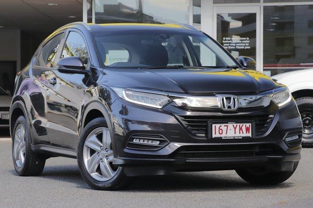 Used Honda HR-V MY17 VTi-S, 2018 Honda HR-V MY17 VTi-S Ruse Black 1 Speed Constant Variable Hatchback