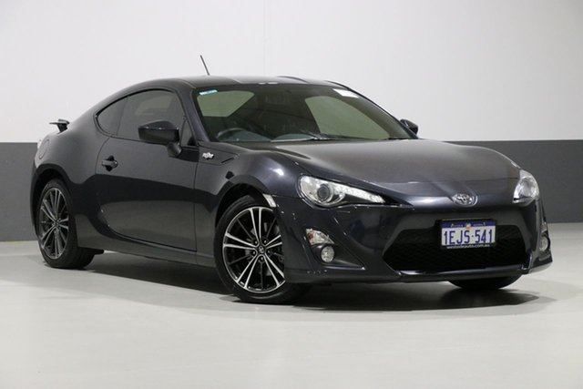 Used Toyota 86 ZN6 GTS, 2013 Toyota 86 ZN6 GTS Graphite 6 Speed Manual Coupe