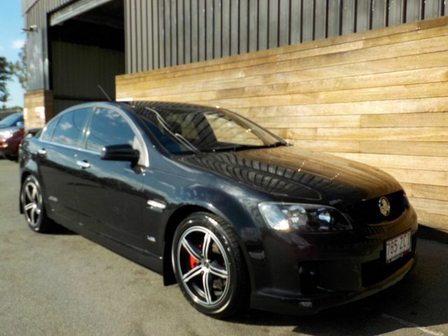 Used Holden Commodore VE MY09 SS, 2008 Holden Commodore VE MY09 SS Black 6 Speed Sports Automatic Sedan