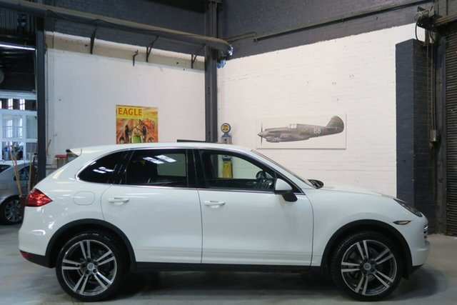 Used Porsche Cayenne 92A MY11 Diesel Tiptronic, 2011 Porsche Cayenne 92A MY11 Diesel Tiptronic White 8 Speed Sports Automatic Wagon
