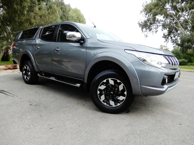 Used Mitsubishi Triton MQ MY17 Exceed Double Cab, 2016 Mitsubishi Triton MQ MY17 Exceed Double Cab Silver 5 Speed Sports Automatic Utility