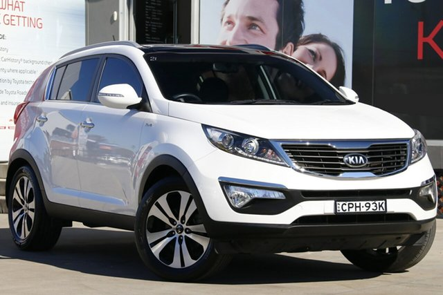 Used Kia Sportage SL MY13 Platinum (AWD), 2013 Kia Sportage SL MY13 Platinum (AWD) White 6 Speed Automatic Wagon