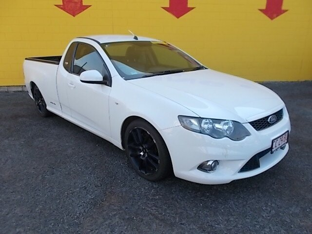 Used Ford Falcon  , 2011 Ford Falcon FG XR6 White 4 Speed Auto Active Select Utility