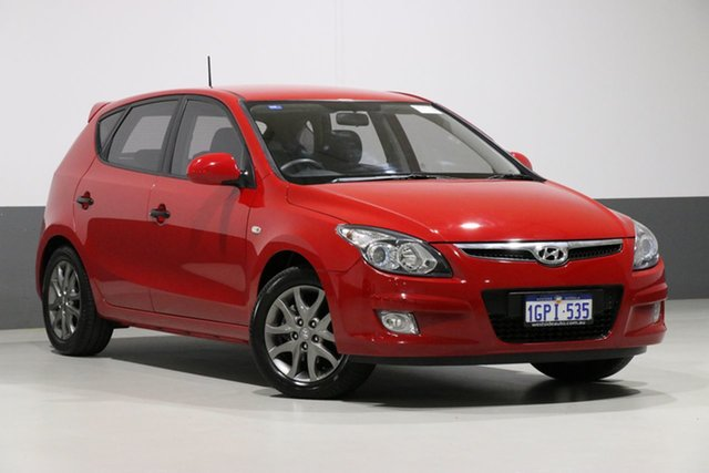 Used Hyundai i30 FD MY12 Trophy, 2012 Hyundai i30 FD MY12 Trophy Red 4 Speed Automatic Hatchback