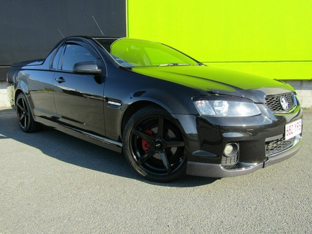 Used Holden Commodore VE II MY12.5 SV6 Z-Series, 2012 Holden Commodore VE II MY12.5 SV6 Z-Series Black 6 Speed Manual Utility