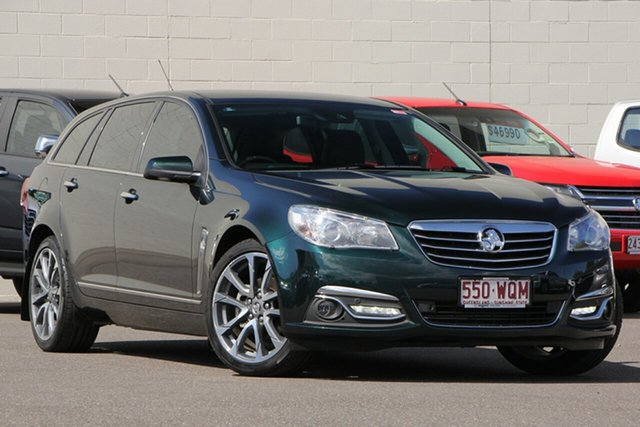 Used Holden Calais VF II MY16 V, 2016 Holden Calais VF II MY16 V Green 6 Speed Sports Automatic Sedan