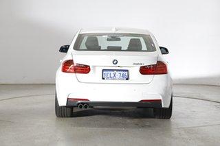 2014 BMW 3 Series F30 MY0813 328i M Sport White 8 Speed Sports Automatic Sedan