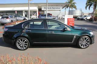 2015 Holden Calais VF II MY16 V Green 6 Speed Sports Automatic Sedan.