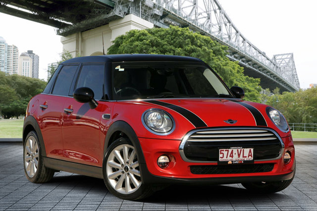 Used Mini Hatch F56 Cooper, 2014 Mini Hatch F56 Cooper Red 6 Speed Manual Hatchback