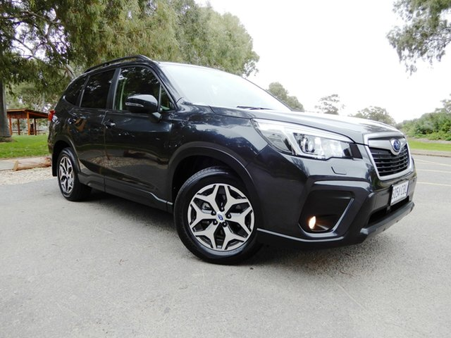 Used Subaru Forester S5 MY19 2.5i CVT AWD, 2018 Subaru Forester S5 MY19 2.5i CVT AWD Dark Grey 7 Speed Constant Variable Wagon