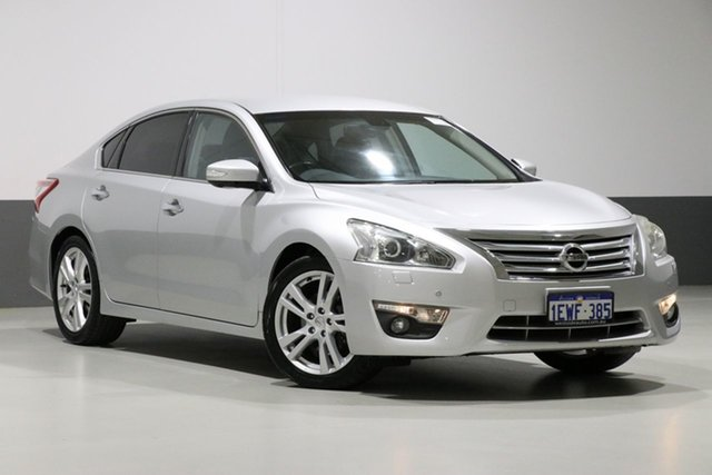 Used Nissan Altima L33 TI, 2014 Nissan Altima L33 TI Silver Continuous Variable Sedan