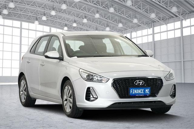 Used Hyundai i30 PD MY18 Active, 2018 Hyundai i30 PD MY18 Active Platinum Silver Metallic 6 Speed Sports Automatic Hatchback