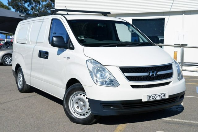 Used Hyundai iLOAD TQ-V , 2010 Hyundai iLOAD TQ-V White 5 Speed Sports Automatic Van