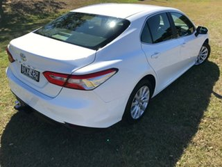 2018 Toyota Camry ASV70R Ascent Glacier White 6 Speed Automatic Sedan