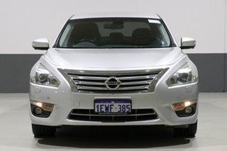 2014 Nissan Altima L33 TI Silver Continuous Variable Sedan.
