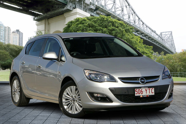 Used Opel Astra AS Select, 2012 Opel Astra AS Select Silver 6 Speed Sports Automatic Hatchback