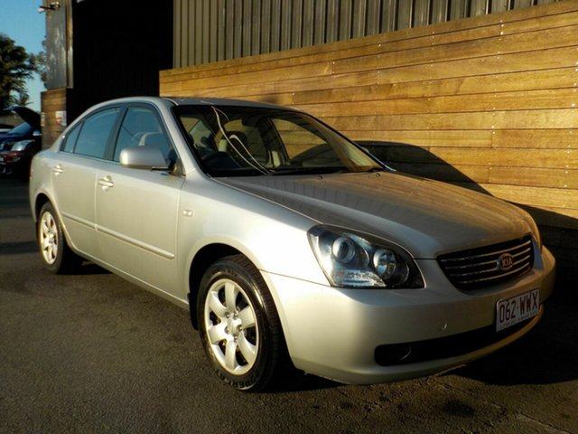 Used Kia Magentis MG LX, 2009 Kia Magentis MG LX Silver 5 Speed Sports Automatic Sedan