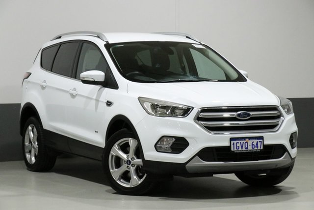 Used Ford Escape ZG MY18 Trend (AWD), 2017 Ford Escape ZG MY18 Trend (AWD) White 6 Speed Automatic Wagon