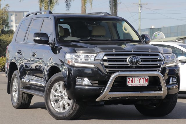 Used Toyota Landcruiser VDJ200R Sahara, 2016 Toyota Landcruiser VDJ200R Sahara Eclipse Black 6 Speed Sports Automatic Wagon