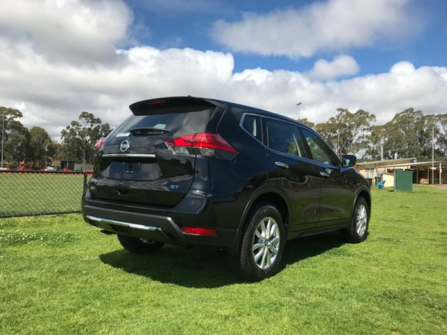 Demo Nissan X-Trail T32 Series II ST X-tronic 4WD, 2018 Nissan X-Trail T32 Series II ST X-tronic 4WD Diamond Black 7 Speed Constant Variable Wagon