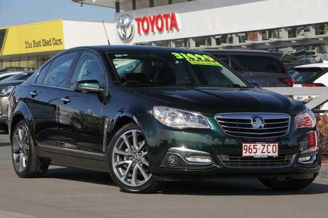Used Holden Calais VF II MY16 V, 2015 Holden Calais VF II MY16 V Green 6 Speed Sports Automatic Sedan
