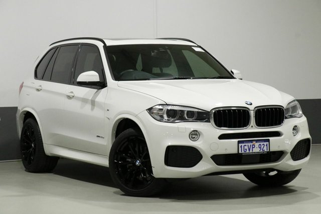 Used BMW X5 F15 MY18 xDrive 30D, 2018 BMW X5 F15 MY18 xDrive 30D White 8 Speed Automatic Wagon