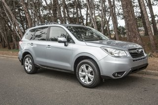 2013 Subaru Forester S4 MY13 2.5i Lineartronic AWD Silver 6 Speed Constant Variable Wagon.