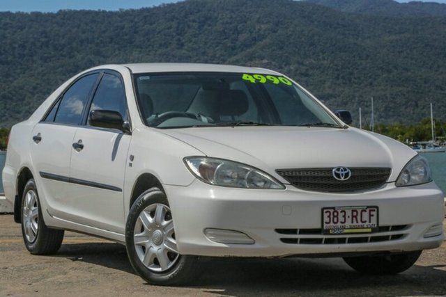 Used Toyota Camry MCV36R Altise, 2004 Toyota Camry MCV36R Altise White 4 Speed Automatic Sedan