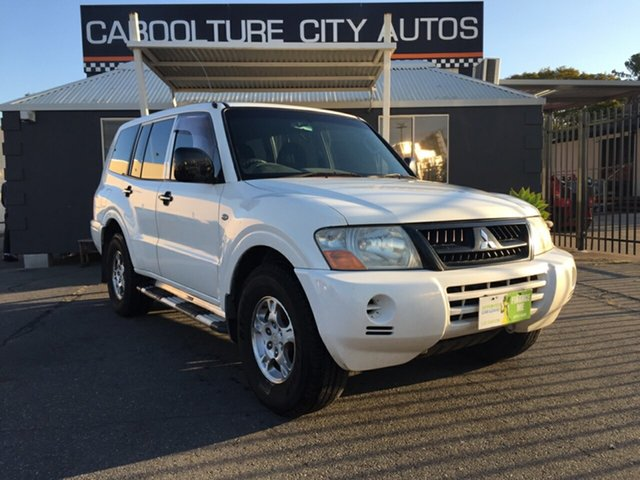 Used Mitsubishi Pajero NP MY04 GLX, 2004 Mitsubishi Pajero NP MY04 GLX White 5 Speed Sports Automatic Wagon