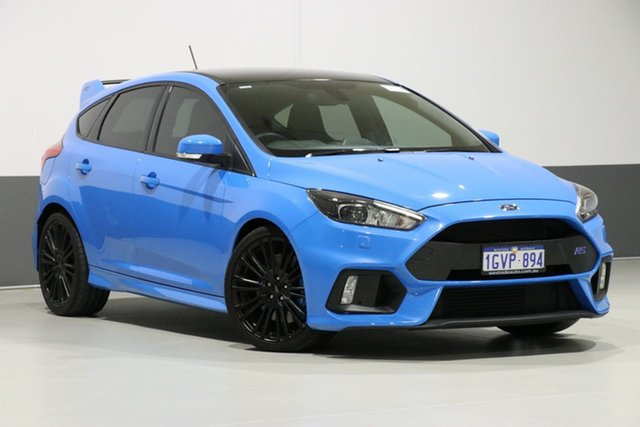 Used Ford Focus LZ RS, 2017 Ford Focus LZ RS Blue 6 Speed Manual Hatchback