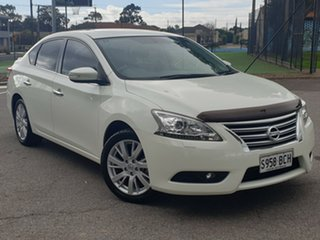 2013 Nissan Pulsar B17 TI White 1 Speed Constant Variable Sedan