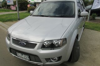 2011 Ford Territory SY MkII TS RWD Limited Edition Silver 4 Speed Sports Automatic Wagon.