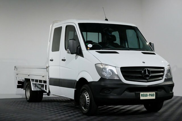 Used Mercedes-Benz Sprinter NCV3 MY14 516CDI LWB, 2014 Mercedes-Benz Sprinter NCV3 MY14 516CDI LWB White 5 Speed Automatic Cab Chassis