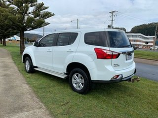 2016 Isuzu MU-X MY15 LS-M Rev-Tronic 4x2 White 5 Speed Sports Automatic Wagon