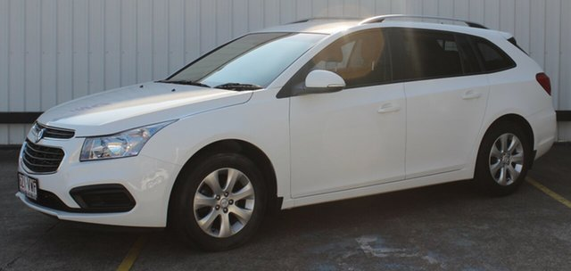 Used Holden Cruze JH Series II MY15 CD Sportwagon, 2015 Holden Cruze JH Series II MY15 CD Sportwagon White 6 Speed Sports Automatic Wagon