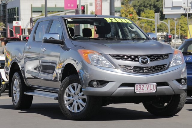 Used Mazda BT-50 UP0YF1 XTR, 2014 Mazda BT-50 UP0YF1 XTR Grey 6 Speed Sports Automatic Utility
