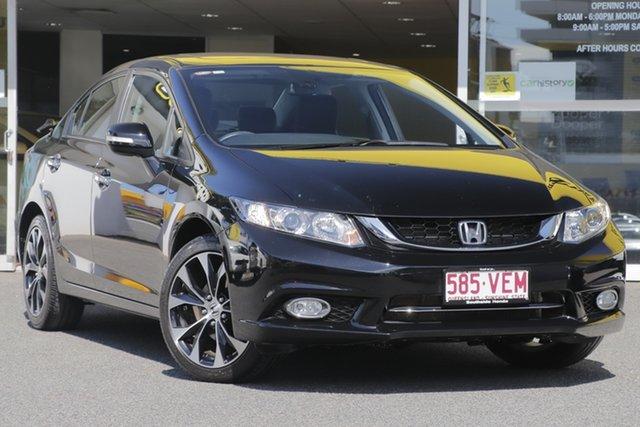 Used Honda Civic 9th Gen Ser II MY14 Sport, 2014 Honda Civic 9th Gen Ser II MY14 Sport Black 5 Speed Sports Automatic Sedan