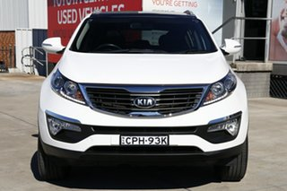 2013 Kia Sportage SL MY13 Platinum (AWD) White 6 Speed Automatic Wagon