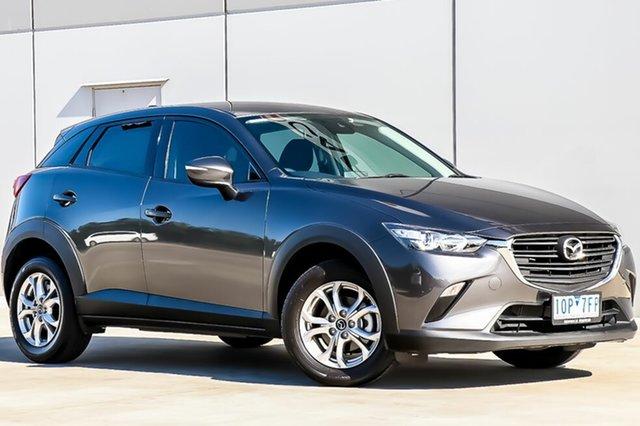 Used Mazda CX-3 DK2W7A Maxx SKYACTIV-Drive FWD Sport, 2018 Mazda CX-3 DK2W7A Maxx SKYACTIV-Drive FWD Sport Machine Grey 6 Speed Sports Automatic Wagon