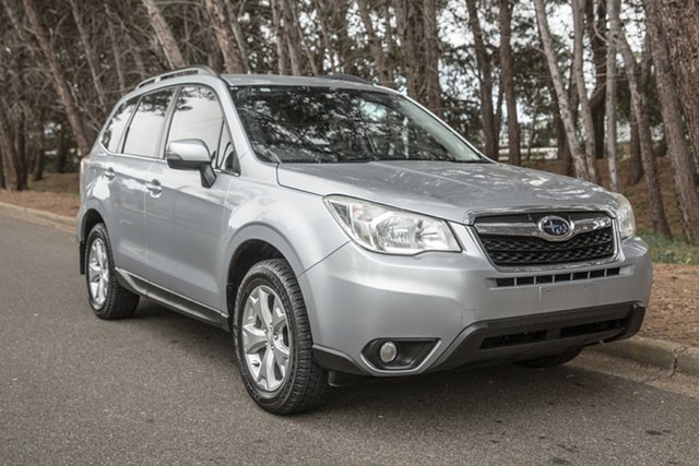 Used Subaru Forester S4 MY13 2.5i Lineartronic AWD, 2013 Subaru Forester S4 MY13 2.5i Lineartronic AWD Silver 6 Speed Constant Variable Wagon